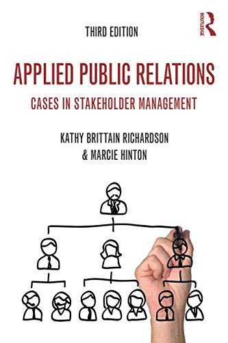 Applied Public Relations Cases in Stakeholder Management 3rd 2015 (Revised) edition cover