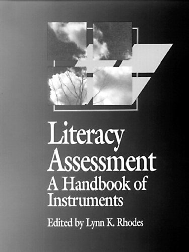 Literacy Assessment A Handbook of Instruments  1992 edition cover
