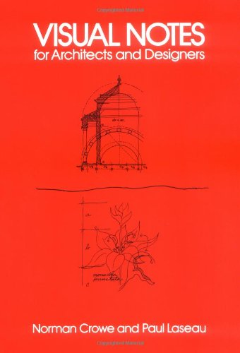 Visual Notes for Architects and Designers   1986 (Reprint) edition cover