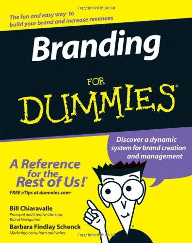 Branding for Dummies   2007 edition cover