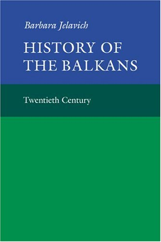 History of the Balkans   1983 9780521274593 Front Cover