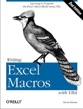 Writing Excel Macros with VBA  2nd 2002 edition cover