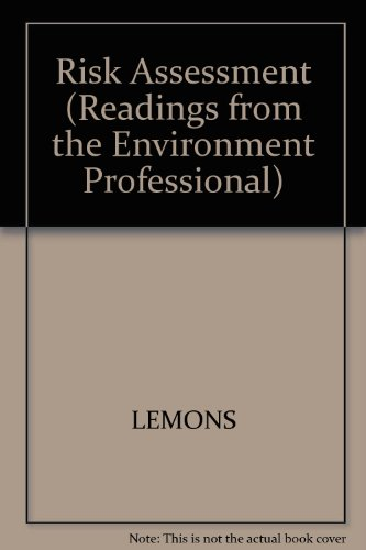 Readings from the Environmental Professional : Risk Assessment  1995 9780865424593 Front Cover