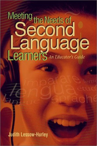 Meeting the Needs of Second Language Learners An Educator's Guide  2003 edition cover