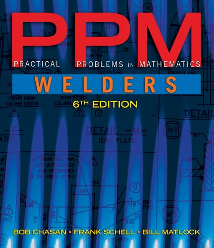 Practical Problems in Mathematics for Welders  6th 2012 edition cover
