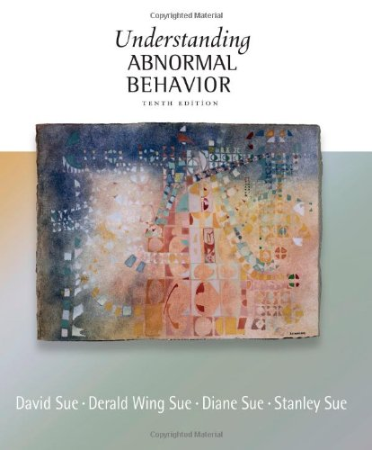 Understanding Abnormal Behavior  10th 2013 edition cover