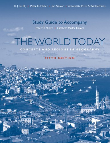 World Today Concepts and Regions in Geography 5th 2012 (Guide (Pupil's)) edition cover