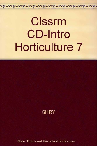 Introductory Horticulture  7th 2007 9781401889593 Front Cover