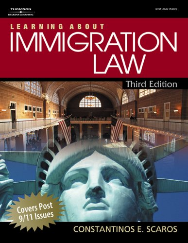 Learning about Immigration Law  3rd 2007 edition cover