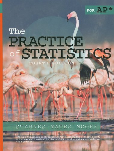 Practice of Statistics  4th 2012 (Revised) edition cover