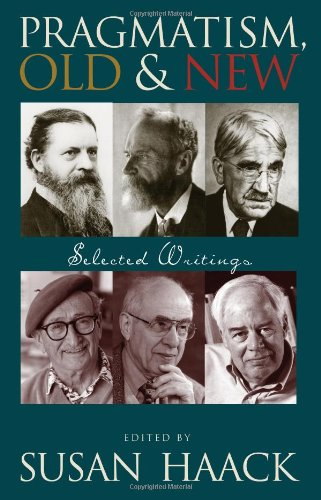 Pragmatism, Old and New Selected Writings  2005 edition cover