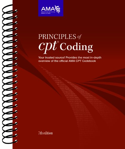Principles of CPT Coding  7th 2012 edition cover