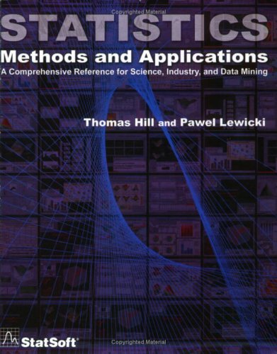 Statistics; Methods and Applications A Comprehensive Reference for Science, Industry, and Data Mining  2006 edition cover