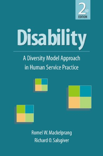 Disability 2E A Diversity Model Approach in Human Service Practice 2nd 2009 edition cover