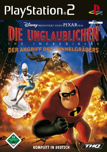 Die Unglaublichen - The Incredibles: Angriff PlayStation2 artwork