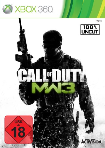 Call of Duty: Modern Warfare 3 Xbox 360 artwork