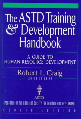 ASTD Training and Development Handbook A Guide to Human Resource Development 4th 1996 (Revised) edition cover