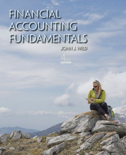 Financial Accounting Fundamentals  4th 2013 9780078025594 Front Cover
