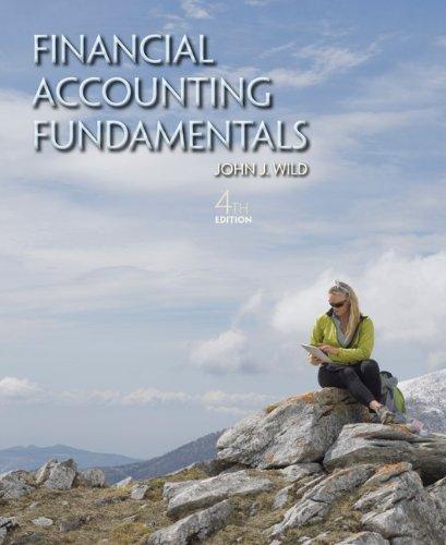 Financial Accounting Fundamentals  4th 2013 edition cover