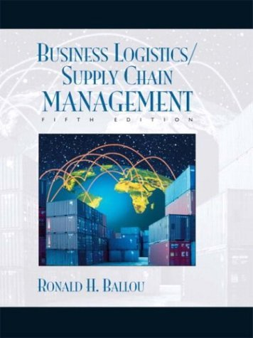 Business Logistics/Supply Chain Management and Logware  5th 2004 (Revised) edition cover