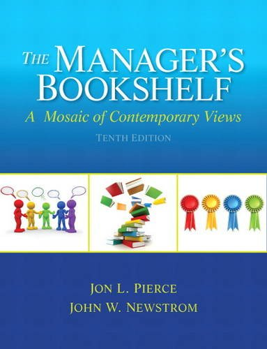 Manager's Bookshelf A Mosaic of Contemporory Views 10th 2014 edition cover