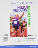 Human Resource Management  14th 2015 9780133791594 Front Cover