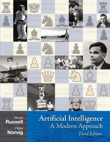Artificial Intelligence A Modern Approach 3rd 2010 edition cover