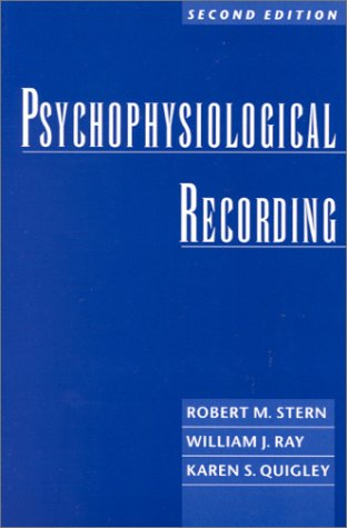 Psychophysiological Recording  2nd 2001 (Revised) edition cover