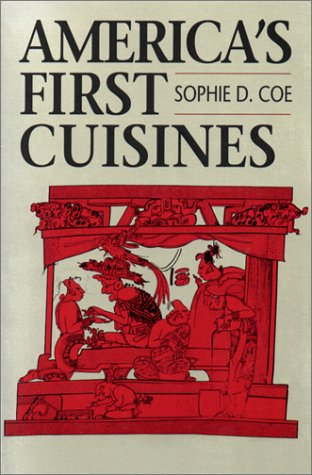 America's First Cuisines   1994 edition cover