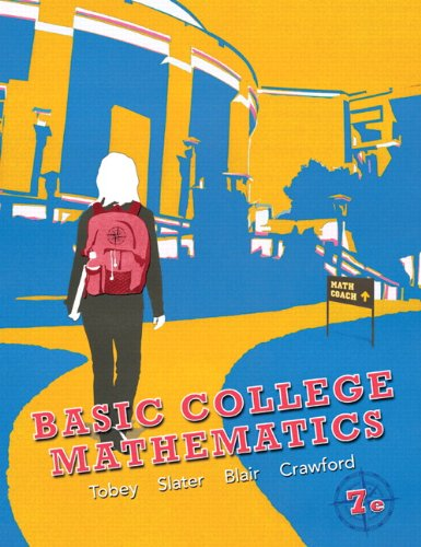 Basic College Mathematics  7th 2012 (Revised) edition cover