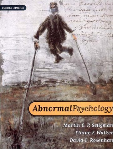Abnormal Psychology  4th 2001 edition cover