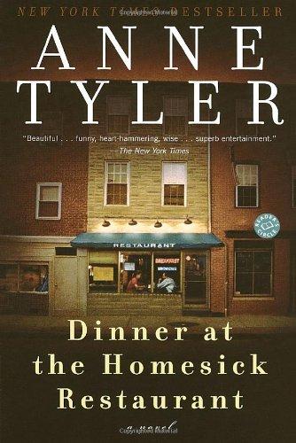 Dinner at the Homesick Restaurant   1982 edition cover