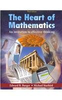 The Heart of Mathematics, 3rd Ed + Manipulatives Kit: An Invitation to Effective Thinking  2009 edition cover