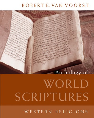 Anthology of World Scriptures Western Religions  2007 edition cover