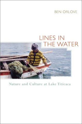 Lines in the Water Nature and Culture at Lake Titicaca  2002 edition cover