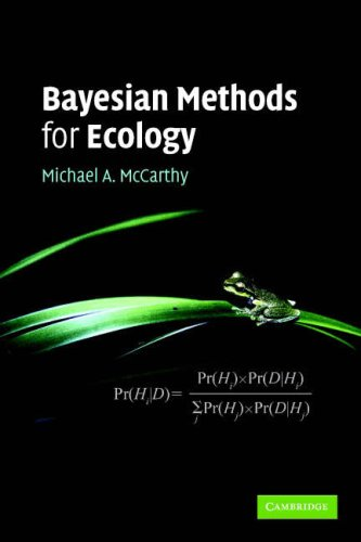 Bayesian Methods for Ecology   2007 edition cover