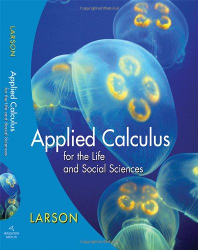 Applied Calculus for the Life and Social Sciences   2009 edition cover