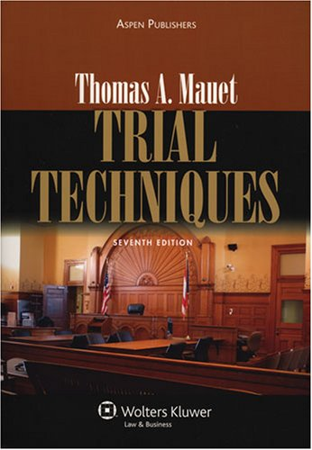 Trial Techniques  7th 2007 (Revised) edition cover