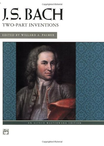 Bach -- Two-Part Inventions   1973 edition cover