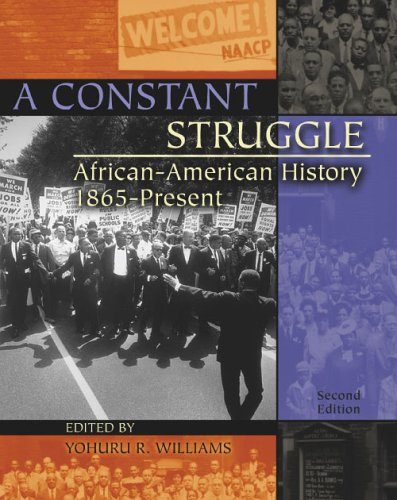 Constant Struggle African-American History 1865-Present 2nd 2005 (Revised) 9780757517594 Front Cover