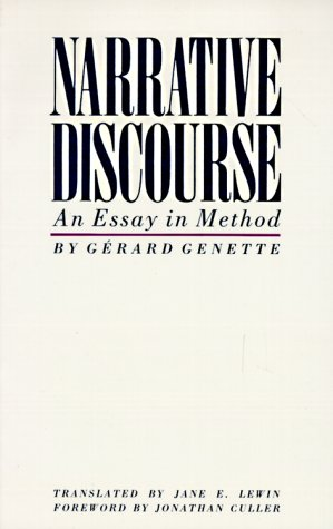 Narrative Discourse An Essay in Method  1983 (Reprint) edition cover