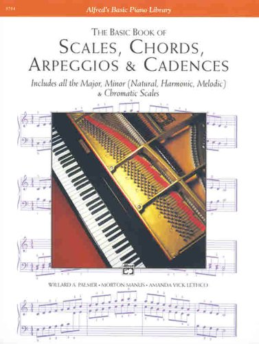 Basic Book of Scales, Chords, Arpeggios and Cadences   1994 9780882848594 Front Cover