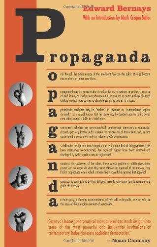 Propaganda   2004 9780970312594 Front Cover