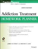Addiction Treatment Homework Planner  5th 2014 edition cover