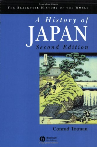 History of Japan  2nd 2005 (Revised) edition cover