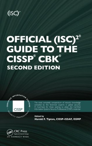 Official (ISC)2 Guide to the CISSP CBK, Second Edition  2nd 2010 (Revised) edition cover