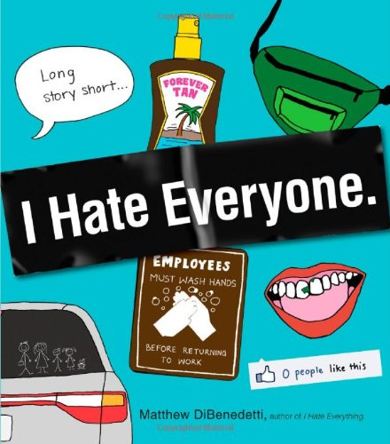 I Hate Everyone   2012 edition cover