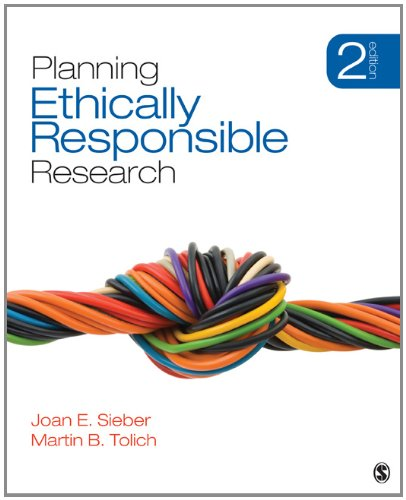 Planning Ethically Responsible Research  2nd 2013 edition cover