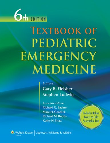 Textbook of Pediatric Emergency Medicine  6th 2010 (Revised) edition cover