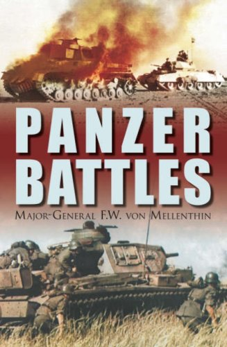 Panzer Battles  N/A 9781862274594 Front Cover